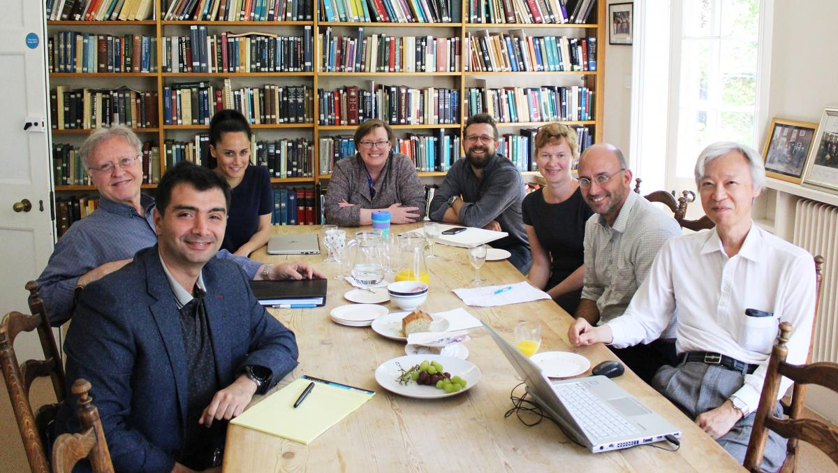 Visitors roundtable talk at the Lauterpacht Centre for International Law